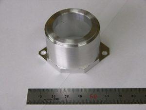 アルミA5052の加工サンプル